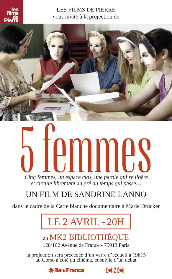 Cinq femmes